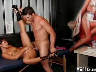Sexy Asian Jandi Lin Acquires Her Wet Twat Hammered Hard