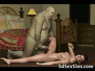3d demons اللعنة حار فاتنة!