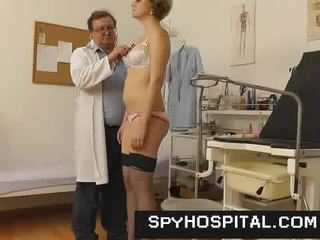 Aged gyno medic with a hidden cam