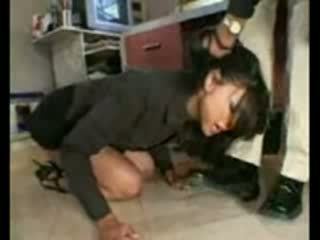 Stupid employee brutally destroyed av frustrated sjef