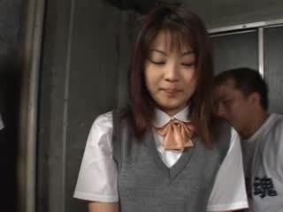 Hardcore coreana sexo em prisão