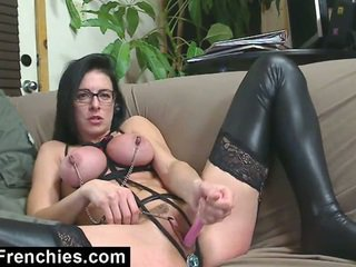 Kinky french bondage and anal