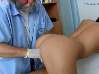 Medical examination by a curious doctor.