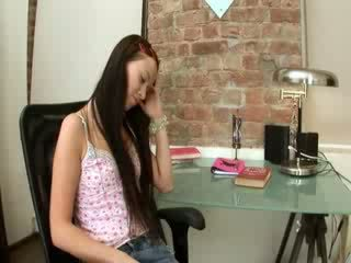 Evelina model office pleasure on a chair