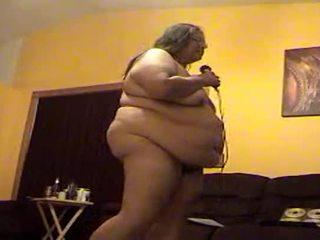 Alma Smego Shaking Her Fat Blubbery Money Maker Naked