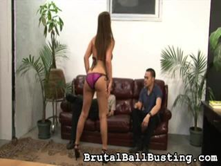 Selection Of Amazing Movies From Brutal Ball Busting In Hardcore Sex Niche