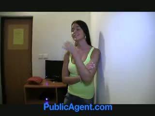 Publicagent agata مذهل foxy blue eyed امرأة سمراء
