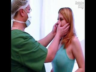 Molly Gyno Exam Pussy Speculum Investigation By Aged Kinky Doctor