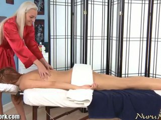 Erotic electric lesbian massage