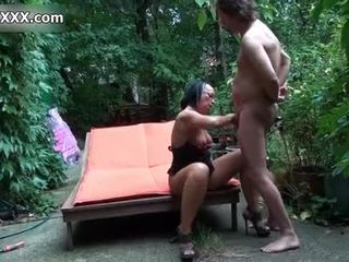 Dirty whore gets her pussy banged hard