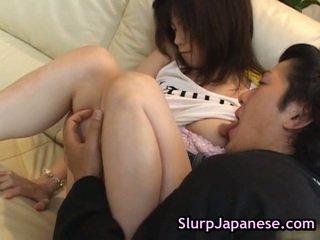 Sexy asiáticos a chupar cocks