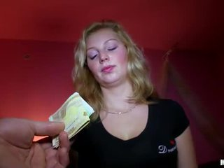 Czech girl Maya Angel pounded for money