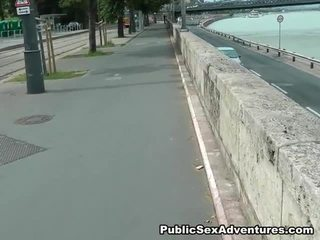 Cute Dolls Has Real Public Have Laid Adventure
