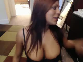 Briana Lee Sexy All Black Lingerie Cam Video by JLS