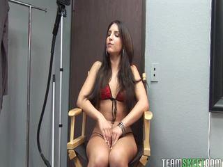 mooi brunette kanaal, mooi wit porno, nominale slank