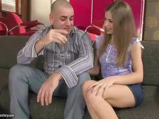 Nice Looking Babe Having Fucking Around Mature Man