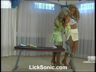 gratis blondjes, kijken kut likken, plezier lesbo