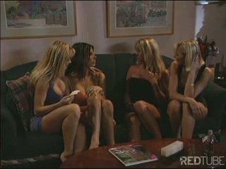 Lesbian enema debutantes homeparty is hot