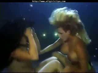 A Beauty Lesbian Underwater-show lesbian girl on girl lesbians