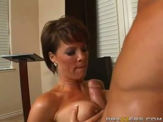 Breasty Kayla Synz Acquires Pussy And Titty Fucked Hard And Gets Nasty Jizz