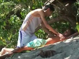 Bãi biển massage boykakke