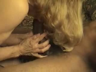 Mature hotwife takes creampie from her black bull