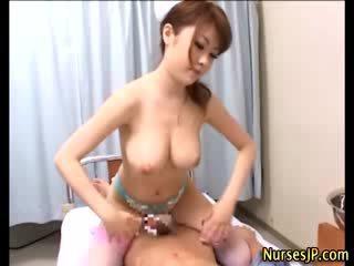 heet japanse mov, exotisch, verpleegkundigen klem