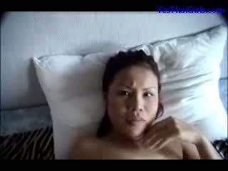 Thai dalagita supsupin titi mouth fucked pangmukha sa ang bed