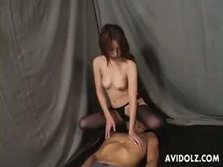 Comel tomoe hinatsu kaki fetish /ketagihan erotik