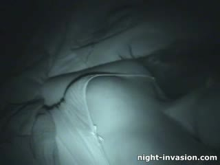 Bigtit chick Fingered in Sleep
