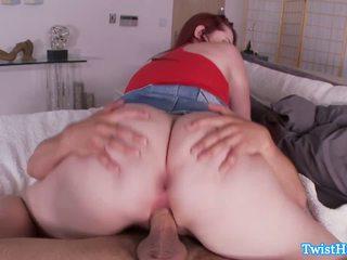 Big booty classy Melody Jordan rammed