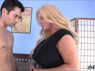 Busty tgirl police Holly Sweet fucks guy