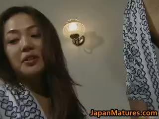 أقرن اليابانية ناضج فاتنة مص part3