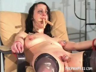 Bizarro female humillación y confuso degradation