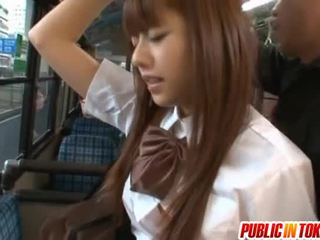 Impressive Youngster Rina Rukawa Public X Rated