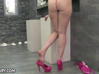 eet haar voeten scène, voet fetish kanaal, sexy benen kanaal