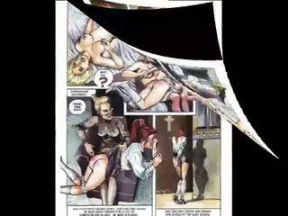 cartoons actie, heet comics klem