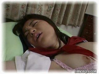 Asiatique écolière having fou intercourse
