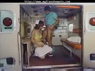 Nice ts Nurse Gets Anal tgirl porn shemales tgirl porn trannies ladyboy ladyboys ts tgirl tgirls cd tgirl cu