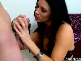 InDia Summers Is Thumping A Juicy Black Rod In That Guyr Mouth Until That Babe Chokayes