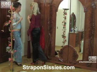 Hilda And Ernest Strapon Sissysex Act