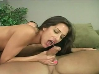 Youngster Monica Breeze Tongues Phallus Then Jams It Up Clam For Big Sit Onto