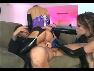 heetste anaal mov, heet latex, een kousen gepost