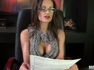 British Babe Valentina Cruz Office Fucked Video
