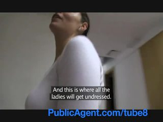 PublicAgent Fit British women gets fucked in her new gym