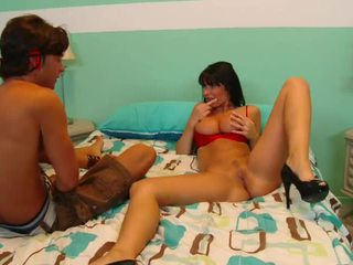 French Bigtitted Mom Shagging Her Step Son!