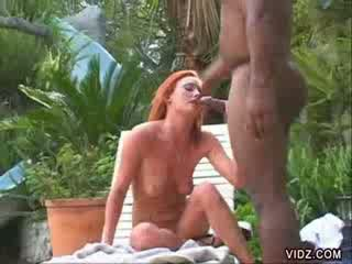 Wild Donna Marie gets slit and ass hammered