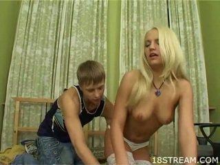 Caldi adolescenza having lewd sesso