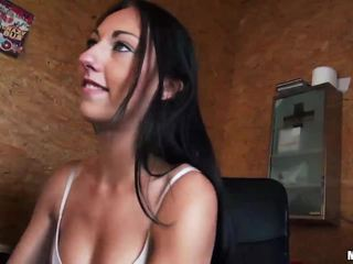Eurobabe Electra Angel paid for anal sex