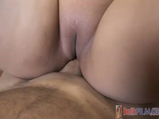 Large Nice Looking Asian Chick Getting Down On Some Cock!